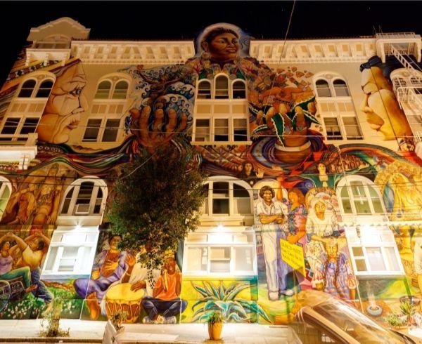 チカーノの壁画1