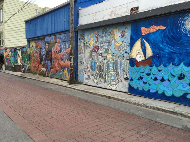 チカーノの壁画6