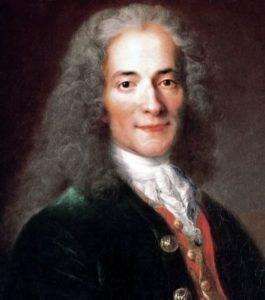 啓蒙主義の代表的人物ヴォルテール