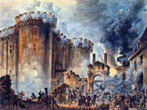 バスチーユ牢獄の襲撃
