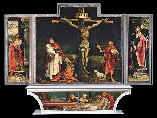 グリューネヴァルト作 キリストの磔刑