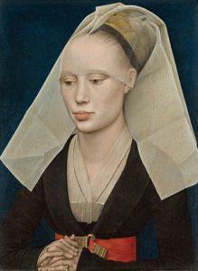 ファン・デル・ウェイデン作 女性の肖像