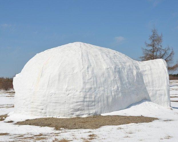 イヌイットの家:冬
