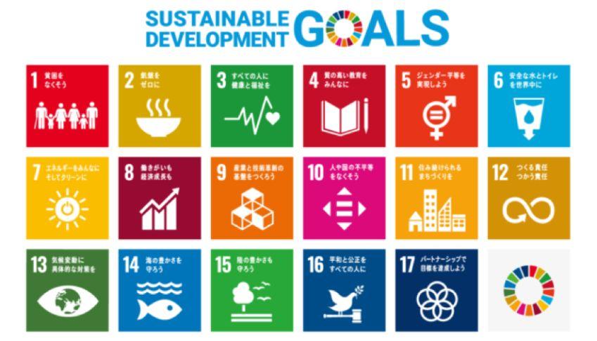 SDGsにおける17の目標