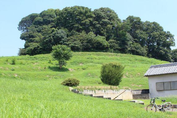 最後の巨大前方後円墳である奈良県五条野丸山古墳