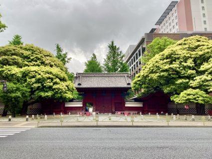 現在東京大学の構内
