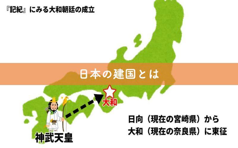 日本の建国とは