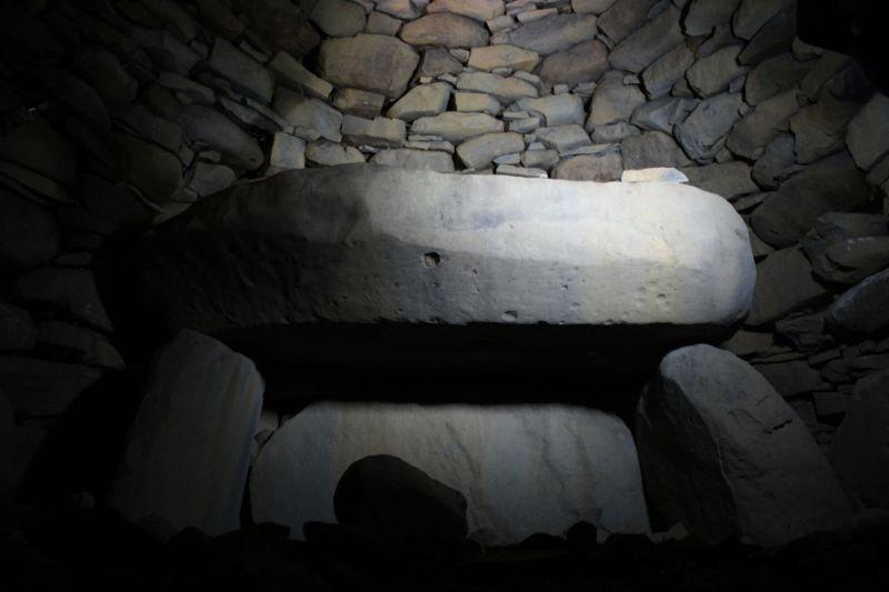九州系横穴式石室の内部