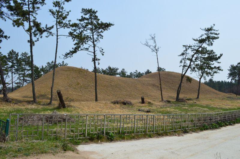 韓国で2番目の規模を誇る長鼓山古墳68m